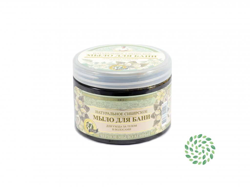 Babička Agafa Bylinkové mydlo – prírodné - 500 ml