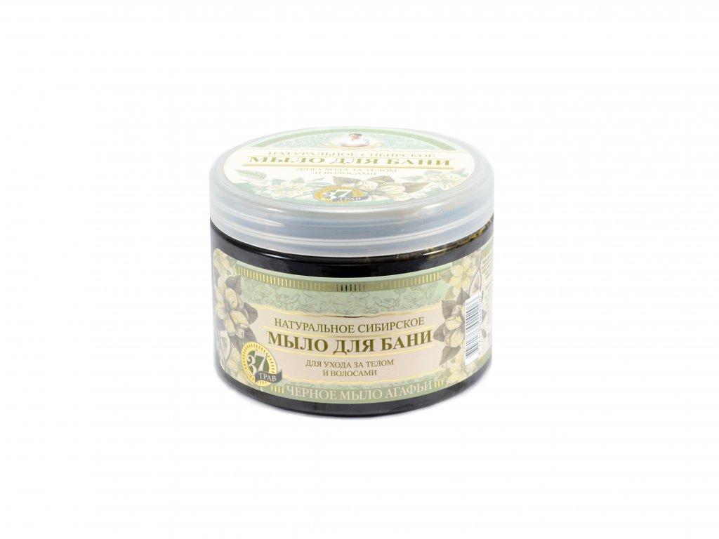 Babička Agafa - prírodné bylinkové mydlo - 500 ml