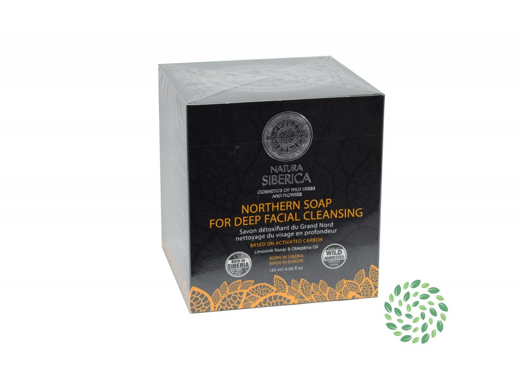 Natura Siberica – severské mydlo pre detox a hlboké očistenie tváre 100 g