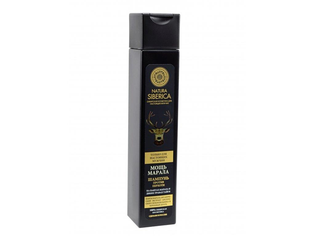 Men Šampón proti lupinám- Sila sibírskeho jeleňa - Natura Siberica - 250 ml