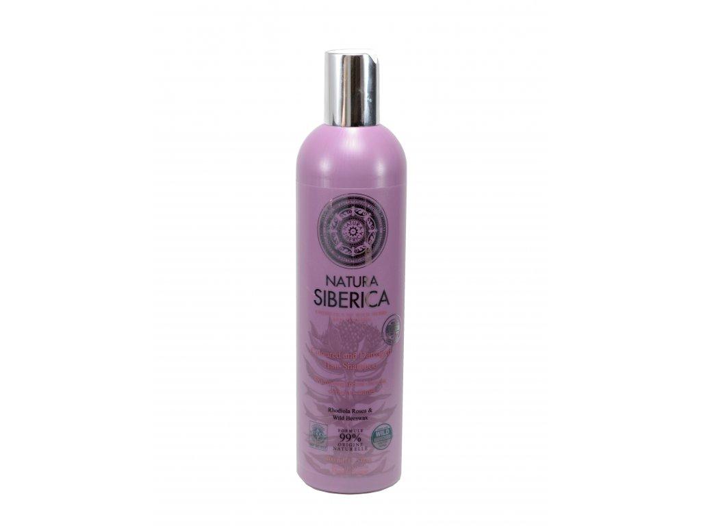 Natura Siberica- Šampón – Výživa a regenerácia pre suché vlasy- 400ml