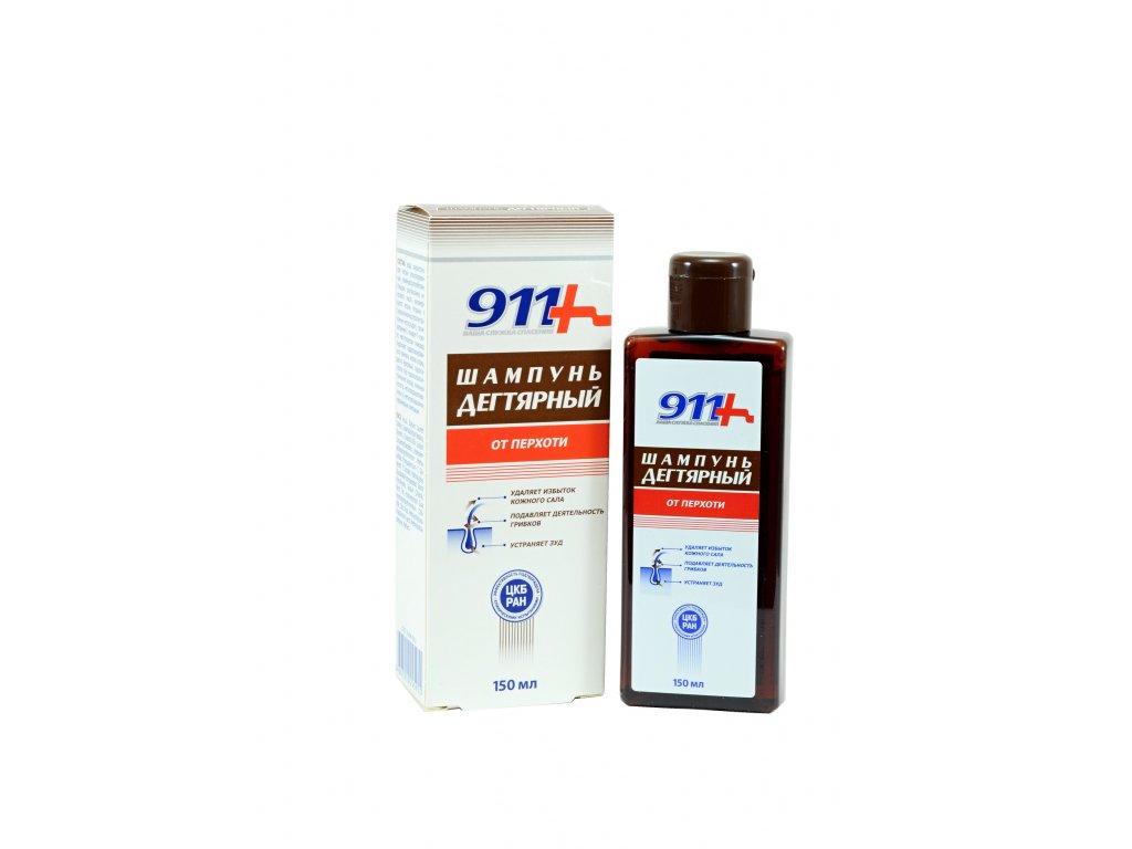 Dechtový šampón proti lupinám - Twinstec 911+ - 150 ml