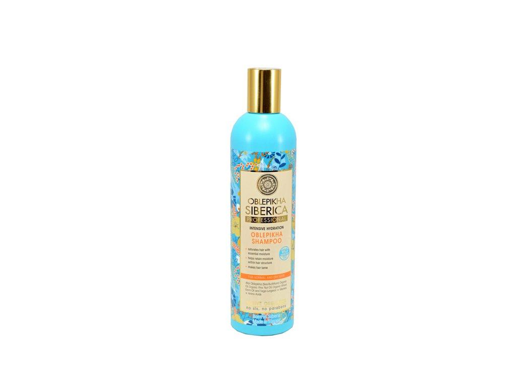 Professional – rakytníkový šampón pre suché a normálne vlasy a ich intenzívne zvlhčenie - Natura Siberica - 400 ml