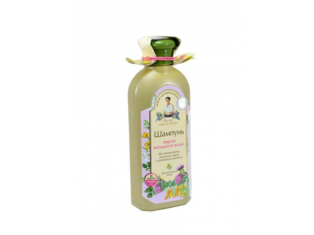 Babička Agafa - Šampón proti vypadávaniu vlasov - pre všetky typy vlasov- 350ml