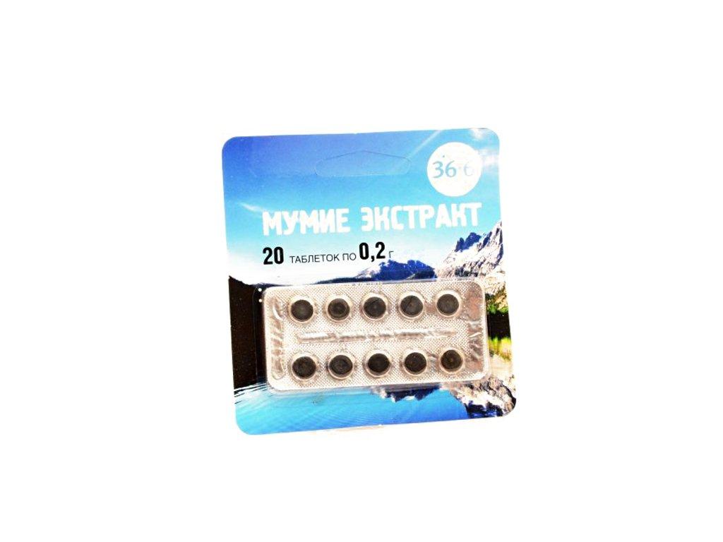 MUMIO- extrakt - 20 tabliet/0,2g