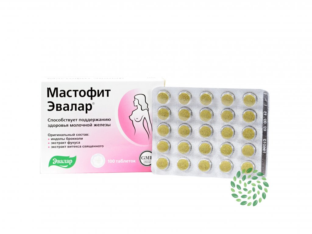 Mastofit - Evalar - 100 tabliet/ 0,2g