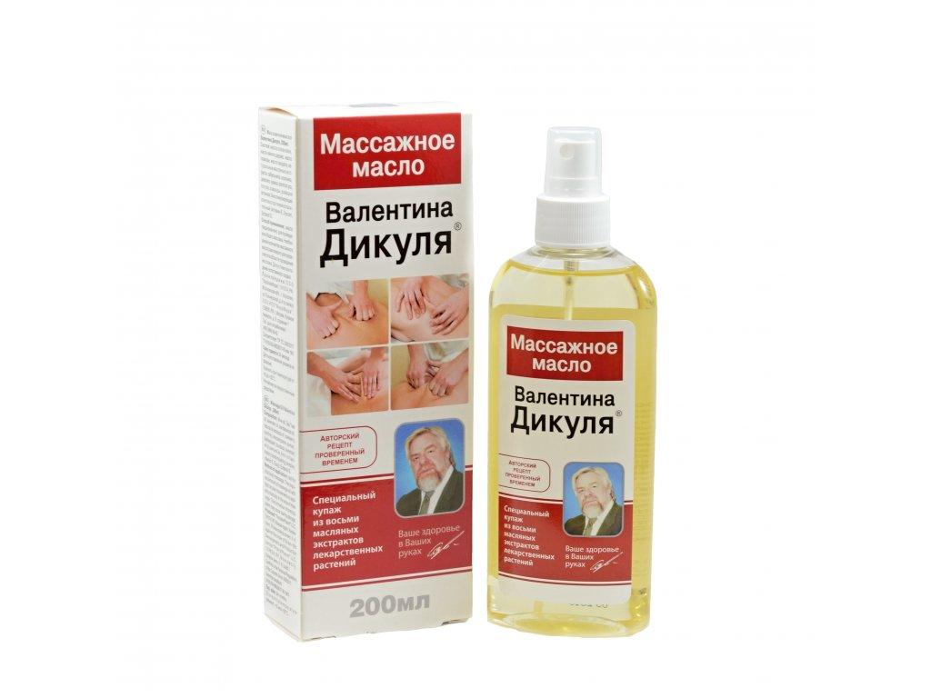 1095 Korolev Farm Valentin Dikul masážny olej 200ml