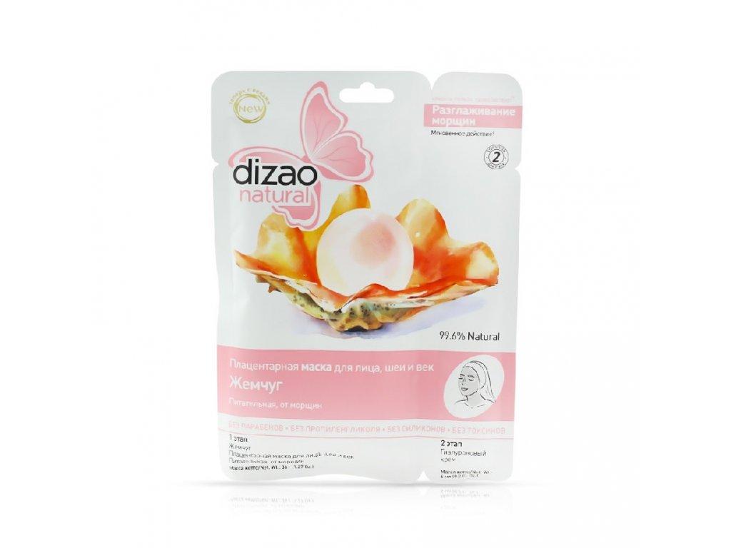 Dizao- Dvojzložková placentárna maska na tvár a krk Perly- 42g