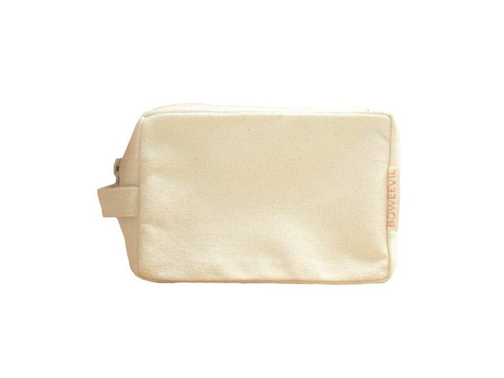 BoWeevil - Kozmetická taška- make-up z biobavlny- natural