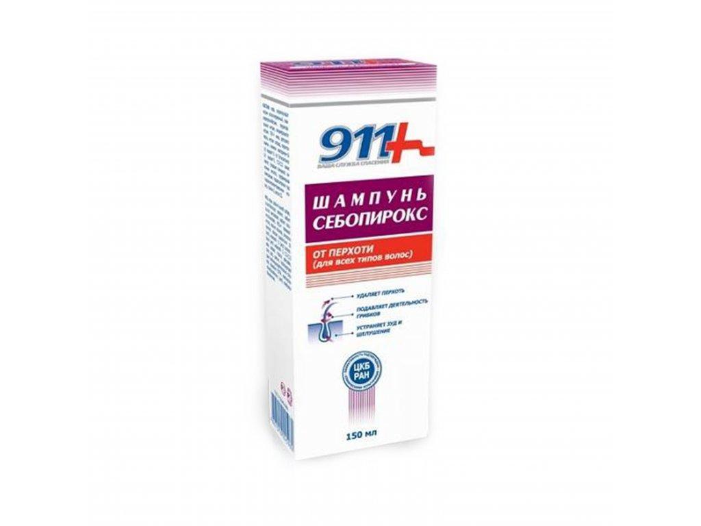 Šampón Sebopirox proti lupinám pre všetky typy vlasov - Twinstec 911+ - 150 ml