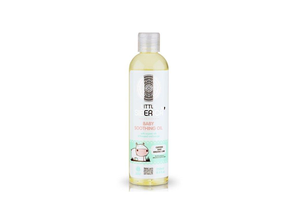 Little Siberica - Detský hojivý olej s prírodným ľanovým a borákovým olejom - 250 ml