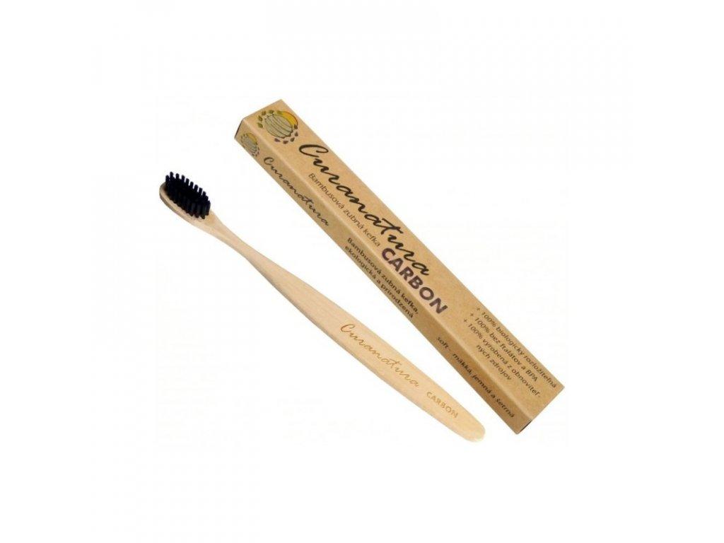 zubna kefka bambusova carbon curanatura