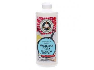 naturalne sodowe mydlo do naczyn babuszka agafia 500ml