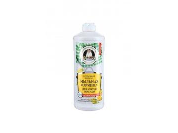 Prírodné mydlo s horčicou - Babička Agafa - 500 ml