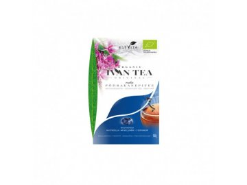 eco ivan tea rose bay willow herb tea blueberry loose tea 50g