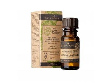 100% esenciálny olej zo santalového dreva - Botanika - 10 ml