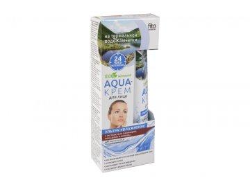 Aqua-krém vysoko hydratujúci na normálnu a zmiešanú pokožku - Fitokosmetik - 45ml