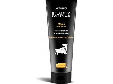 Aktívne Mumio - Vlasová maska na báze mumia, vyživujúca vitamínmi, 200 ml