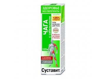 Gel-balzam Sustavit Čaga s nátržnicou močiarnou na kĺby - Korolev Farm - 125ml