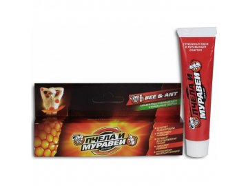 Krémový balzam s včelím a mravčím jedom - SPECMASŤ - Shuster - 44 ml