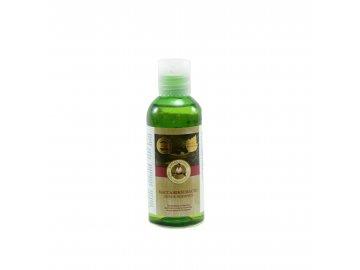 0425 Babička Agafa Ľahký masážny olej 170 ml