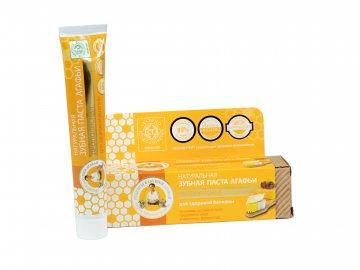 Babička Agafa Bio organická zubná pasta Babky Agafy pre zdravé zuby- propolisová- zdravé bielenie - 75 ml