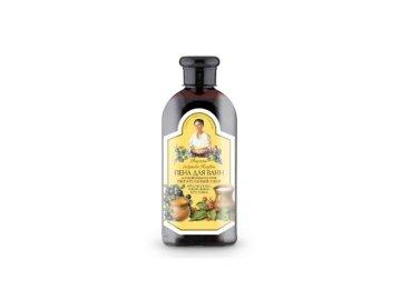 Babička Agafa - vyživujúca pena do kúpeľa mydlica a med - 500 ml