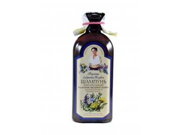 Babička Agafa – Vyživujúci šampón pre normálne a mastné vlasy - 350 ml