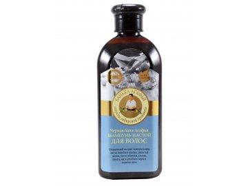 Babička Agafa Čierny kúpeľ šampón- tinktúra na vlasy- 350ml