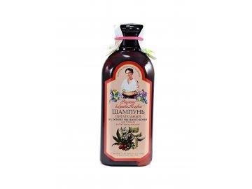 Babička Agafa Výživný šampón pre slabé a rozštiepené vlasy- 350ml
