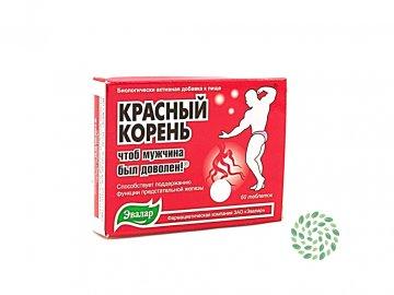 Červený koreň Hedysarum  - napomáha udržiavať normálny sexuálny život, uvoľňuje močové cesty - Evalar - 60 tabliet