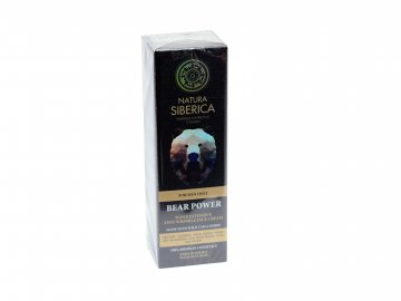 """Natura Siberica Men Intenzívny organický krém proti vráskam """"Sila Medveďa"""" - 50 ml"""