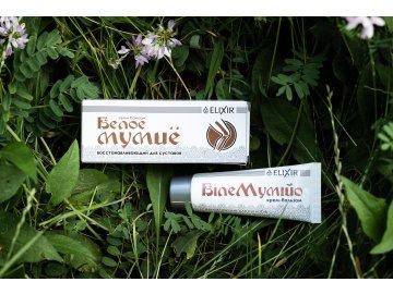 Biele Mumio - krém-balzam na regeneráciu kĺbov - Eliksír - 75 ml