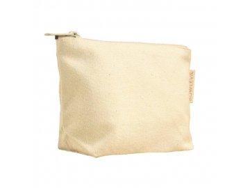BoWeevil - Kozmetická taška z biobavlny, malá- natural