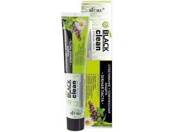 Black clean bieliaca zubná pasta s komplexnou ochranou s liečivými bylinami - 85 g