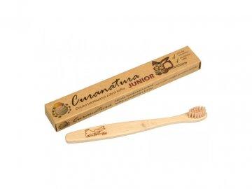 Curanatura Junior kefka-  extra jemné bambusové štetinky