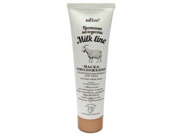belita milk line proteiny molodosti maska omolozhenie depigmentiruyushhaya dlya lica
