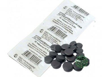 Aktívne uhlie - Farmakom