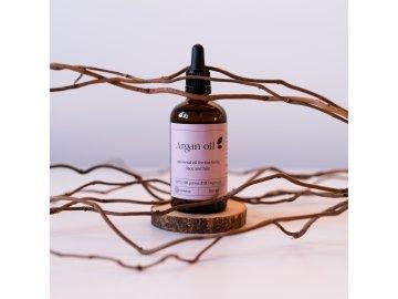 Argánový olej upravené