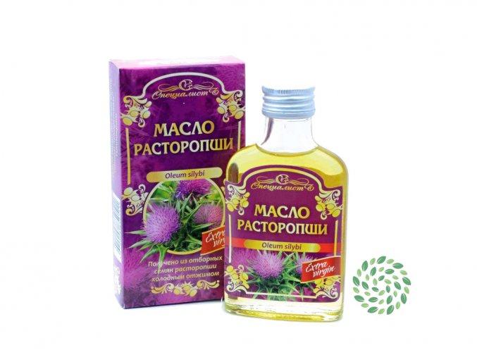 Specialist 100% Olej zo semien Pestreca mariánskeho, za studena lisovaný  - 100 ml