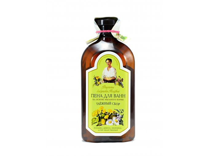 Babička Agafa - pena do kúpeľa, mydlica a harmanček- 500 ml