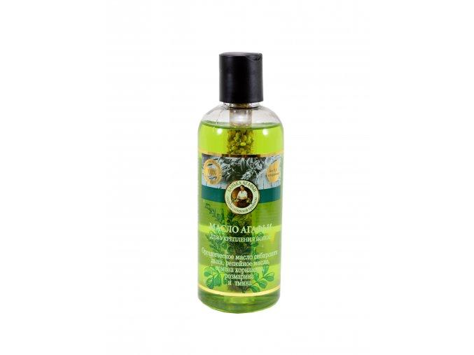 Babička Agafa posilňujúci olej na vlasy - 250 ml