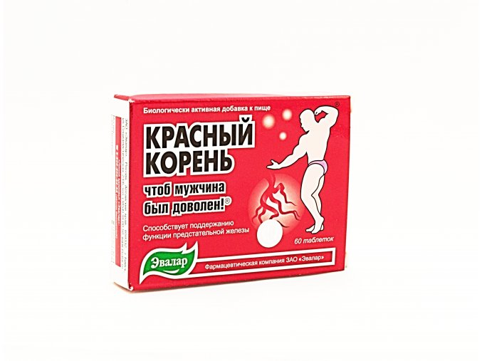 Evalar červený koreň Hedysarum napomáha udržiavať normálny sexuálny život, uvoľňuje močové cesty - 60 tabliet