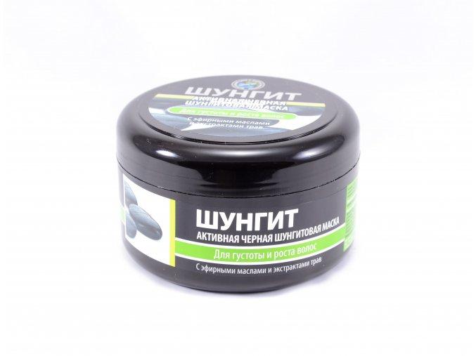 Fratti Aktívna čierna šungitová maska na vlasy - 220ml