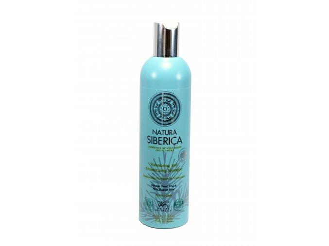 Natura Siberica- Šampón – objem a hydratácia pre suché vlasy- 400ml