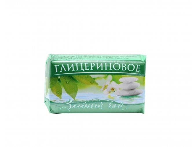 MONPARI- Toaletné glycerínové mydlo Zelený čaj - 100g
