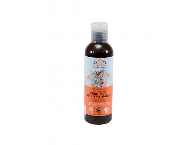 Planeta Organica Pleťový gél- pena na čistenie tváre na báze mandľového oleja 200ml