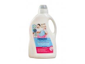 Organic People Eco gél pre pranie všetkých druhov tkanín s organickým lotosovým extraktom Super Fresh- 1500ml