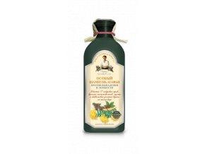 Babička Agafa Špeciálny šampón proti vypadávaniu vlasov Sila 17 sibírskych bylín 350ml