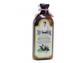 Babička Agafa- šampón tonizujúci pre mastné vlasy 350ml